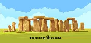 Stonehenge矢量图像