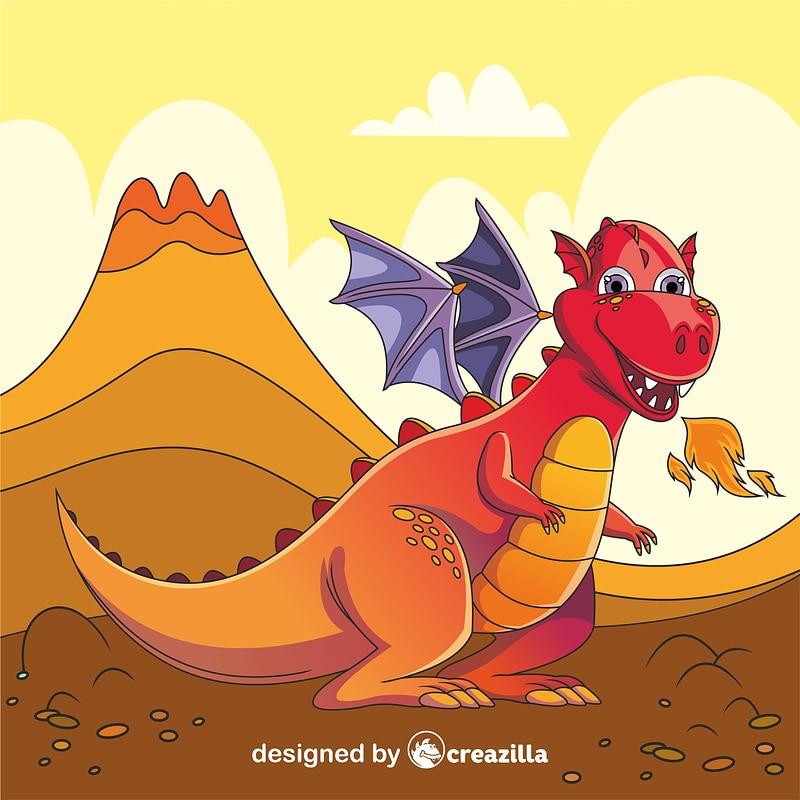 Dragon vektor