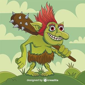 Troll矢量图像