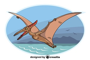 Pterodactyl vector